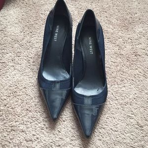 Blue Nine West heels